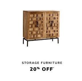 20% Off Storage Furniture