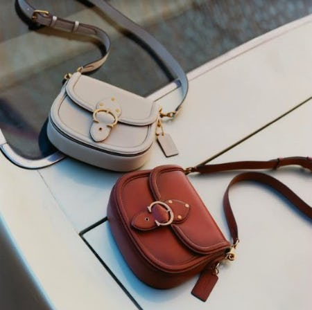SHOP THE BEAT SADDLE BAG from Coach