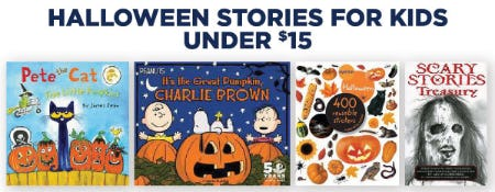 Halloween Stories for Kids Under $15 from Books-A-Million