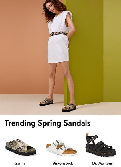 Sandal Season's Hottest Trends