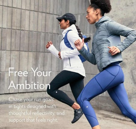 Gear That Supports from lululemon