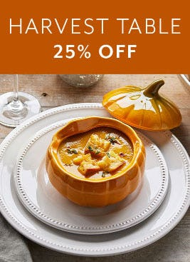 25% Off Harvest Table from Sur La Table
