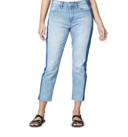 Sanctuary Vintage Side-Stripe Straight Jeans from Lord & Taylor