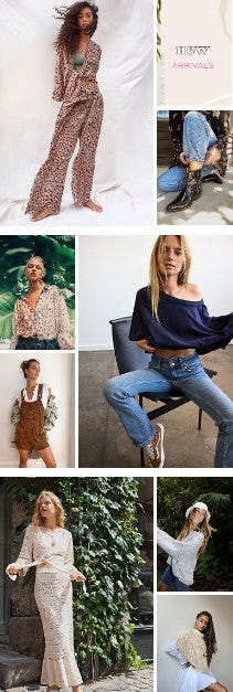 Shop New Arrivals from Free People