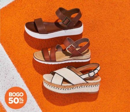 98c469e4c Rack Room Shoes. BOGO 50% Off Flatform Sandals