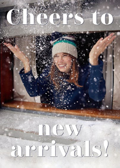 Warm Up with New Sporty Cool