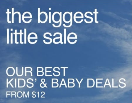 The Biggest Little Sale from Gap