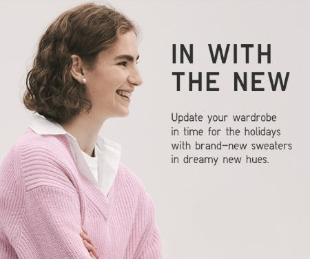 New Arrivals are Here from Uniqlo