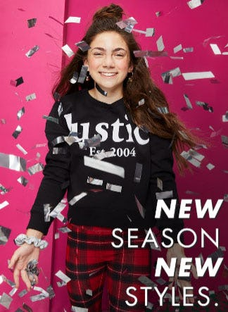 New Season, New Styles from Justice