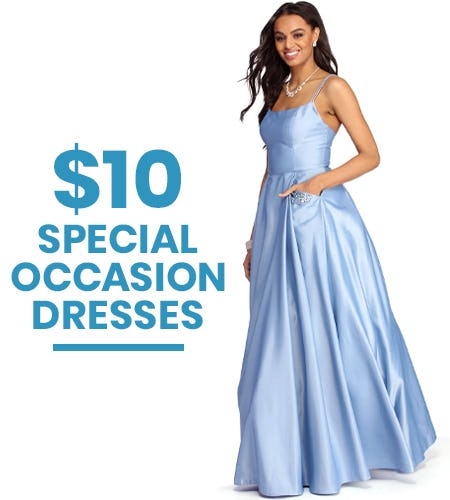 $10 Special Occasion Dresses from Windsor