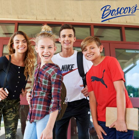 Back to Class at Boscov's from Boscov's