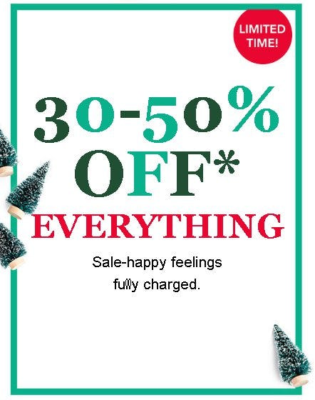 30-50% Off Everything from maurices