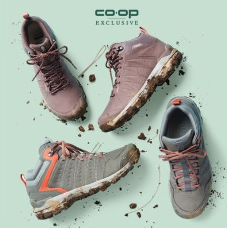 Comfy Hiking Footwear from REI