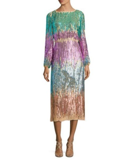 Rixo Coco Sequin Dress from Saks Fifth Avenue