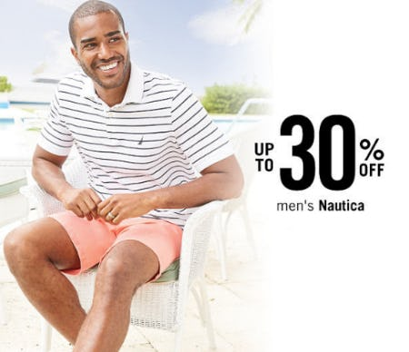 Up to 30% Off Men's Nautica from Belk
