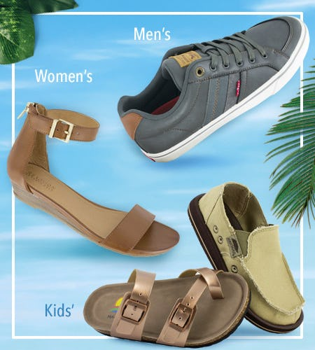 Refreshing Styles for the Family! from SHOE DEPT. ENCORE