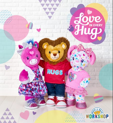 Experience Love in Every Hug This Valentine's Day! from Build-A-Bear Workshop