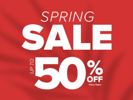 Spring Sale Up to 50% Off from Rainbow