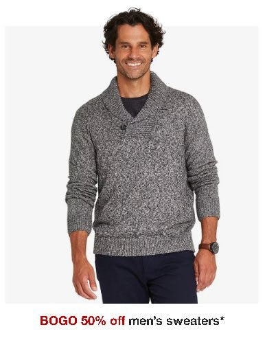 BOGO 50% Off Men's Sweaters from Target