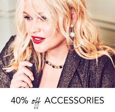 40% Off Accessories from Lane Bryant