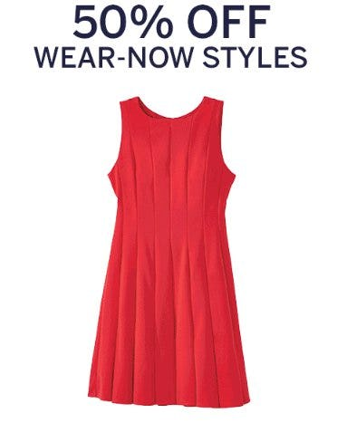 50% Off Wear-Now Styles from Dress Barn, Misses And Woman