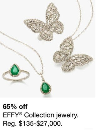 65% Off EFFY Collection Jewelry from macy's