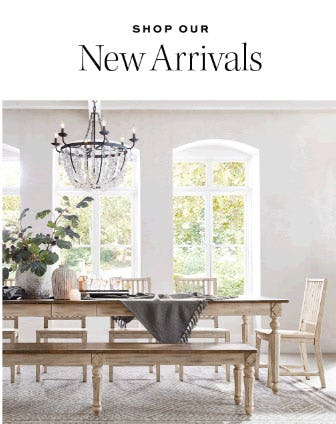 Shop Our New Arrivals from Pottery Barn