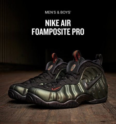1d5ae1bc3cf Men s Nike Air Foamposite Pro Basketball Shoes at Finish Line ...