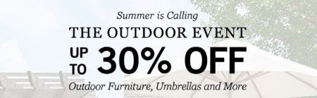 Up to 30% Off The Outdoor Event from Pottery Barn