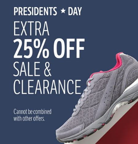 Extra 25% Off Sale & Clearance