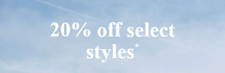 20% Off Select Styles from Abercrombie Kids