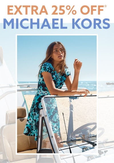 Extra 25% Off Michael Kors from Lord & Taylor