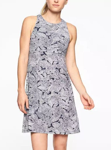 Santorini High Neck Printed Dress from Athleta