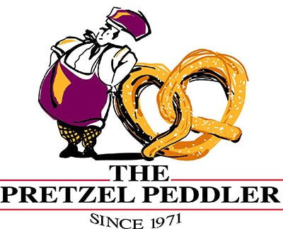 The Pretzel Peddler Logo