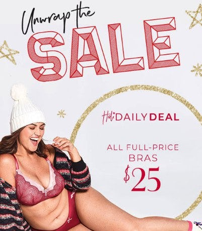 Doorbuster $25 Full-Price Bras from Lane Bryant