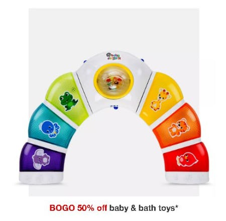 BOGO 50% Off Baby & Bath Toys from Target