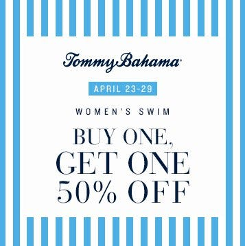 Buy One, Get One 50% Off from Tommy Bahama