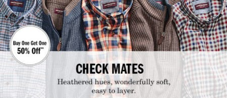 Buy One, Get One 50% Off Shirts from Johnston & Murphy