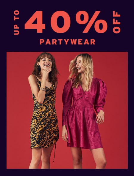 Up to 40% Off on Partywear