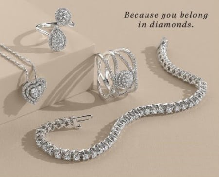A Perfect Match: Diamonds from Fred Meyer Jewelers