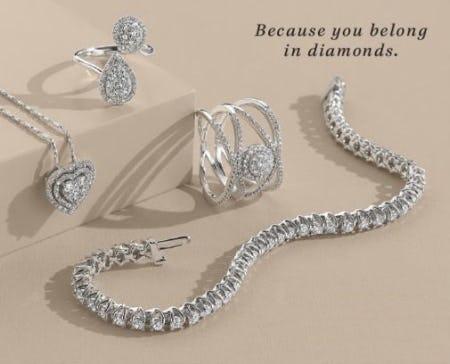 A Perfect Match: Diamonds