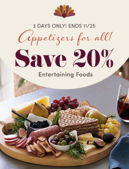 Save 20% on Entertaining Foods from Cost Plus World Market