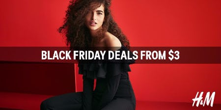 H&M Deals from $3