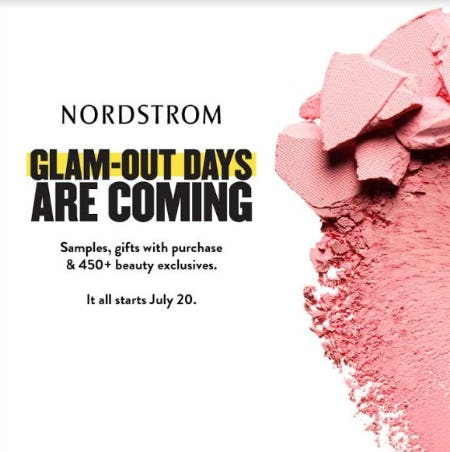 Glam-Out Days are Coming from Nordstrom