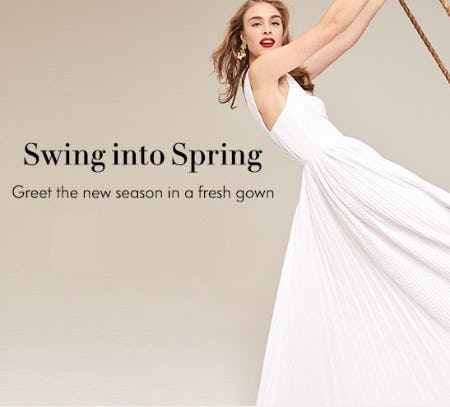 Swing Into Spring from Neiman Marcus