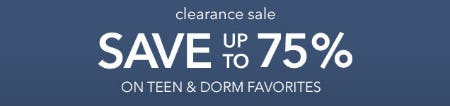 Clearance Sale from Pb Teen