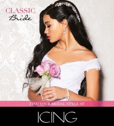 Find Your Bridal Style at ICING
