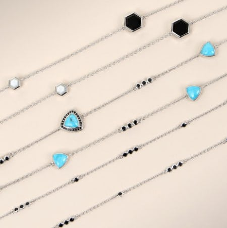 Station Necklaces for Spring from Ben Bridge Jeweler