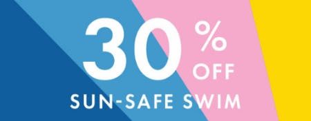 30% Off Sun-Safe Swim from Hanna Andersson
