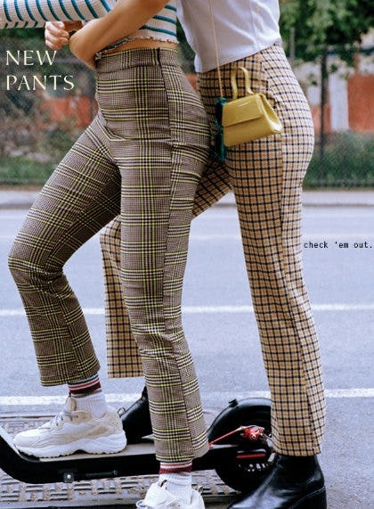 Shop New Pants from Urban Outfitters